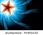 cinema background | Shutterstock .eps vector #91903133