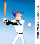 Baseball Pitcher And Batter