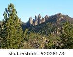 Black Hills Viewpoint Along Th...