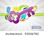 abstract business background... | Shutterstock .eps vector #92036783