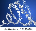 Abstract Particles Background...