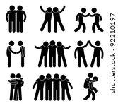 friend friendship relationship... | Shutterstock . vector #92210197