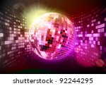 vector illustration of abstract ...   Shutterstock .eps vector #92244295