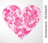 valentine's day background | Shutterstock .eps vector #92256655