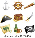 a vector illustration of a... | Shutterstock .eps vector #92268436