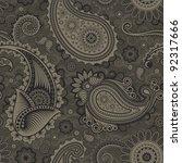 paisley seamless   Shutterstock .eps vector #92317666