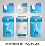 banners for web templates. best ... | Shutterstock .eps vector #92350156