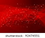 Red holiday abstract background ...