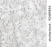 wedding white lace background | Shutterstock . vector #92489854