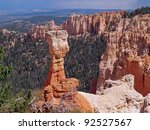 agua canyon  bryce canyon... | Shutterstock . vector #92527567