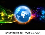 World of colorful - stock photo