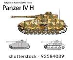 Постер, плакат: German WW2 Panzer IV