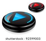modern 3d buttons