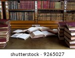 Old Reading Room With Mess On...