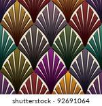 vintage seamless pattern ...