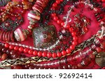Red Background   Jewelry