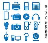 vector illustration of the... | Shutterstock .eps vector #92761840