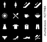 vector useful icons set  you'll ... | Shutterstock .eps vector #9277984
