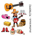 country western   Shutterstock .eps vector #92780992