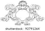 vintage frame. vector...   Shutterstock .eps vector #92791264