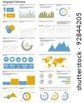 vector set elements of... | Shutterstock .eps vector #92844205