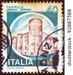 italy   circa 1980  a stamp... | Shutterstock . vector #92887588