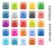 stone web button with color low ... | Shutterstock .eps vector #92901052