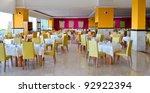 exterior of the restaurant ... | Shutterstock . vector #92922394