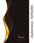 classic cover design vector | Shutterstock .eps vector #92951404