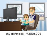 a vector illustration of a... | Shutterstock .eps vector #93006706