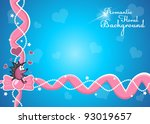 abstract romantic background... | Shutterstock .eps vector #93019657