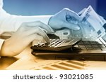 accounting. | Shutterstock . vector #93021085