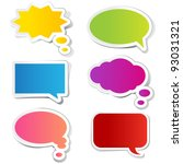 Illustration Of Chat Bubble In...