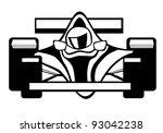 indy car | Shutterstock .eps vector #93042238