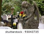 Gravestone In The Old Cemetery...