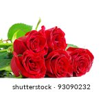 Stock photo red roses 93090232