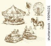 Carousel   Merry Go Round  ...