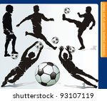 sports design elements for web. ...