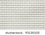 White Woven Leather. See My...