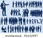 business people | Shutterstock .eps vector #93132997