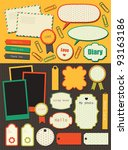 Cute Elements For Scrapbooking. ...