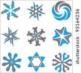 abstract design elements | Shutterstock .eps vector #93164236