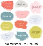 Colorful Labels   Speech...