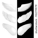wings. vector illustration | Shutterstock .eps vector #93279979