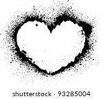 splash heart | Shutterstock .eps vector #93285004