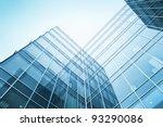 exterior of glass residential... | Shutterstock . vector #93290086