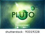 vector solar system   planet...   Shutterstock .eps vector #93319228