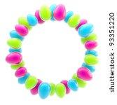 Circular Easter Egg Glossy...