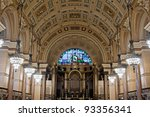 Interior Of St Georges Hall ...