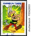 FRANCE - CIRCA 1999: A stamp printed in France shows cartoon character, Asterix, circa 1999 - stock photo